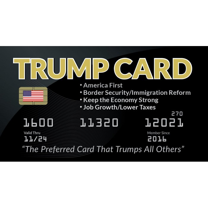 2020 Trump Novelty<br />Cards (pkg of 25)