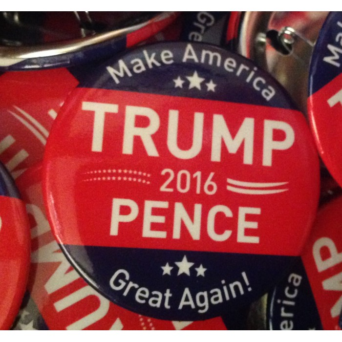 Trump/Pence Presidential Commemorative Button