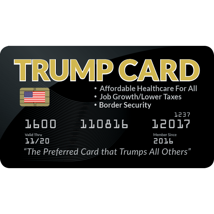 Trump Cards<br />(Package of 25)
